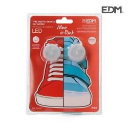 Pack 2 luces leds para cordones zapatos