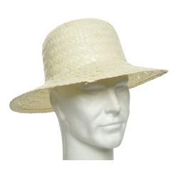 Sombrero tradicional hoja palmera 35x12cm