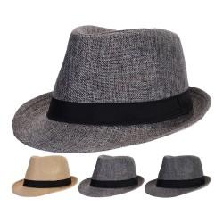 Sombrero para hombre 27x23cm colores surtidos