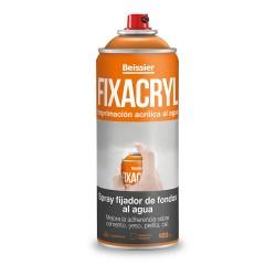 Spray fijador de fondos al agua 400ml fixacryl