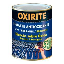 Oxirite liso brillante rojo carruajes 0.750l