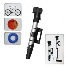Bomba de aire con soporte para bicicleta