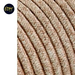 Cable cordon tubulaire  2x0,75mm lino 25mts euro/mts