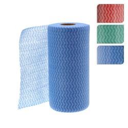 Rollo con 50 toallitas limpiadoras multiusos (colores surtidos)