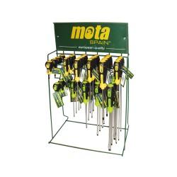 Expositor destornilladores mota ex05 60x40x21cm gratis por la compra de 300€ en articulos mota