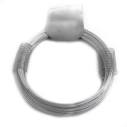 Alambre zincado nº 6 - 1,10mmx25m - 180gr