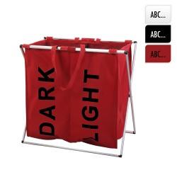 *ult. unidades* cesta para ropa sucia 2 departamentos colores varios