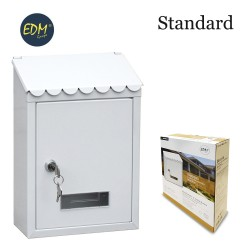 Buzon de acero modelo standard blanco