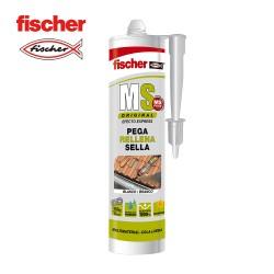 Ms sellante adhesivo plus blanco fischer 290ml