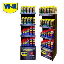 Expositor pequeño wd40 gratis por la compra de 599 euros en productos wd40