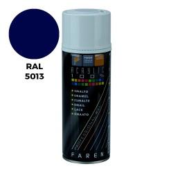 *ult.unidades*spray ral 5013 azul cobalto 400ml.