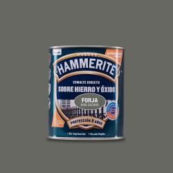 Hammerite esmalte metalico forja gris oscuro 0.750l