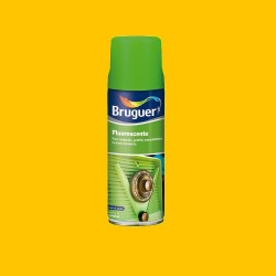 Fluorescente spray naranja 0.4l bruguer