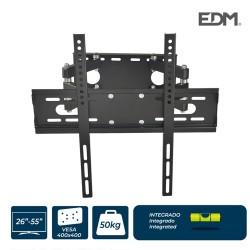Soporte plasma/lcd/led de 26-55 pulgadas 50kg max vesa 400x400mm  edm