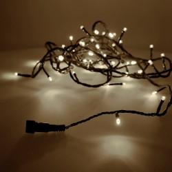 Guirnalda luminosa easy-connect 4mts 60 leds blanco calido (ip44 interior-exterior) edm total 1,08w