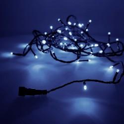 Guirnalda luminosa easy-connect 4mts 60 leds azul 30v (ip44 interio-exterior) edm total 1,08w