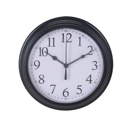 Reloj decorativo plástico ø22,5x4,3cm